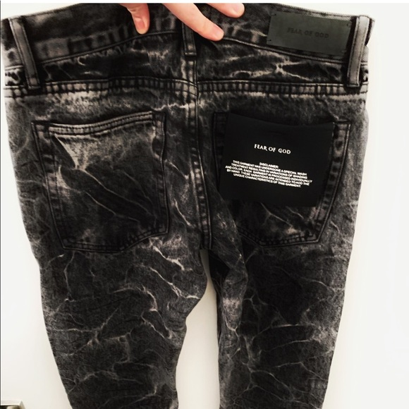 42fd8a22 fear of god Jeans | Holy Water Acid Wash Selvedge Denim | Poshmark